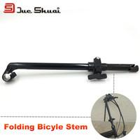 bicycle fork mount - Black Silver Bicycle Stem For Folding Bike Aluminum Bone Mount Handlebar mm Fork Clamp Diameter Tube Cap Stem Para Bike Fork