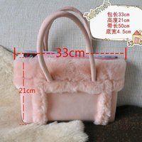 australia brand handbag - int l brand Australia Women Sheepskin Bag Genuine Leather Bag winter warm Handbags Suede Bag