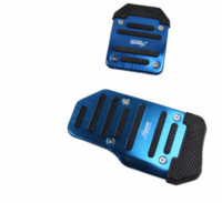 automatic ferrari - 2Pcs Automatic Car Accelerator Pedal Aluminum Rubber For Renault Koleos Twingo Megane Fluenec Latitude Clio Accessories