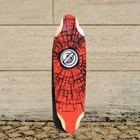 bamboo longboard skateboard - KOSTON pro longboard decks with bamboo and canadian maple mixed inch inch long skateboard deck for downhill racing