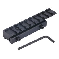 Wholesale Picatinny Rail Mount Adapter Converter Scope Base Dovetail Extension to mm Weaver Riser Rail Mount Dovetail Weaver Best price