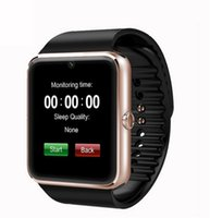 Wholesale Wearable Device Smart Watch GT08 Clock Sync Notifier Support Sim Card Bluetooth for smart phones Android Phone