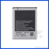 Wholesale Wholesales battery for Samsung Galaxy S5820 S8600 S5690 i8150 i8250 battery with Original Li ion battery EB484659VU V mAh