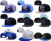 Wholesale Kansas City Royals Snapback Hats New Arrival Classic Men s Baseball Team Embroidered KC Adjustable Flat Caps Mix Orders Acceptted