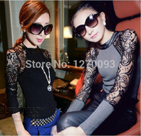 Wholesale New Women Sweaters And Pullovers Winter Knitted Sweater Women High Quality Lace Fashion Brand Women Clothes