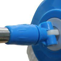 spin mop - Easy Wring Press Spin Mop Bucket System Set Rotation Push Pull Liquid Drain Hole