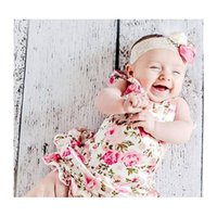 bebe sandals - 15 off baby romper for toddler headband shoe set bebe infant summer clothes romper headband pair barefoot sandals