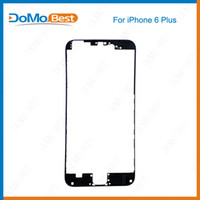 Wholesale High Quality LCD Touch Screen Frame Front Bezel Supporting Bracket for iPhone PLUS inch Black White with M sticker