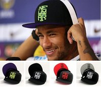baseball r - 2016 New Hot Sale Neymar Letter R design Baseball Cap unisex Men And Women Summer Snapback Caps Sun Hip hop casquette Hats