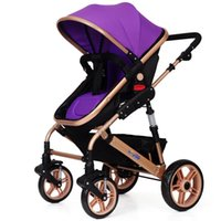 Wholesale Bar Babi high landscape baby strollers can sit can be lying down baby stroller stroller stroller