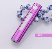 Wholesale New ArrivaL Electronic Lighter USB Rechargeable Cigarette Ligther with USB Cable Flameless Windproof Women Lighters from evergreentech