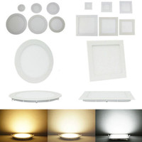 Wholesale Led Down Lights Panel Lights W W W W W W W Led Recessed Lights Downlights Ceiling Lamp AC V