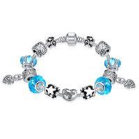 beautiful wild - Fashion charm bead bracelet sterling silver jewelry DIY beautiful dress accessories classic wild style hot