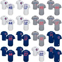 Wholesale 2016 Flexbase Men s Chicago Cubs Kyle Schwarber Heyward Kris Bryant Rizzo Jake Arrieta baseball jerseys Stitched size S XL