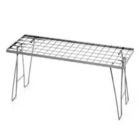 Wholesale Outdoor Stainless Steel Versatile Folding Barbecue Rack Kitchen Rack Appliance Y2543