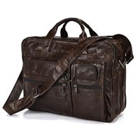 animal naturals handbag - Maxdo Guaranteed genuine leather bag Men s Briefcase men messenger bags natural cowskin quot laptop handbag man MD J7093