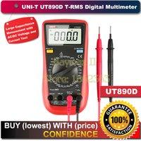 Wholesale UNI T UT890D Back light True Rms Count Auto Off Digital Multimeter with Capacitance Measuremnet up to uF