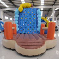 backyard play equipment - AOQI pretty product mountain climbing inflatable giant inflatable climbing tower in inflatable bouncer kid rock climbing equipment
