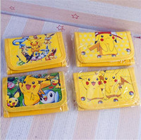 bags purse shipping - 2016 new poke kids Purse Pikachu cartoon Bags boys girls purse bag kid gift ups