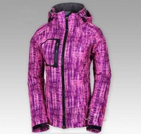 Wholesale High quality Fashion women s Fleece soft shell jacket sports coat Winter outdoor Ski waterproof waterproof climbing wear