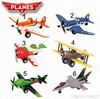 Wholesale Dusty planes Aircraft model toy with music and light Toy Vehicles Toys