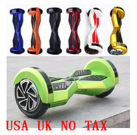 alloy wheels uk - 8Inch Wheel Balance car Scooter USA UK NO TAX LED Marquees Models of Electric Car Shilly Wheel balancing Segvay hoverboard