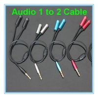 audio sharing - 3 mm Audio Earphone Splitter to Metal Cable Wire For Moblie S Plus S6 Note Headset Headphone Share Music