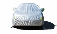 Wholesale Waterproof Full Sun Dust Rain Protection Universal SUV Car Covers Protective Car Cover for VW Toyota Nissan Ford Audi with Secret Key