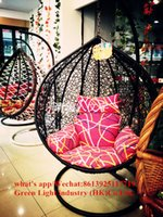Wholesale swing chairs for outdoor restaurant