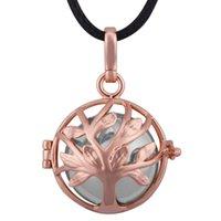 Eudora ® Multifunción y Trend Harmony Bola Ball Ángel Caller Rose Oro Plated Joyería Collar Colgante Colgante H259