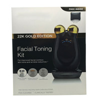 body kit - NuFACE Trinity Facial Trainer Kit K Gold Holiday Limited Edition Facial Toning Anti Aging Skin Care Treatment Device Facial Massager Devic
