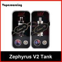 100% Authentique UD Zephyrus V2 Réservoir Youde Zephyrus V2 Réservoir 6ml sub ohm réservoir DHL Livraison gratuite