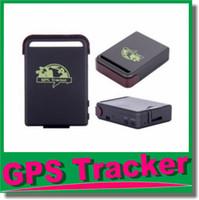 Cheap Superior Mini SPY Vehicle GSM GPRS GPS Tracker or Car Vehicle Tracking Locator Device Mini Car Vehicle TK102B JBD-TK102