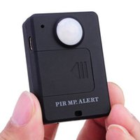 Wholesale Mini Wireless PIR MP GSM Alert with Infrared Inductive Probe Anti theft Motion Detection Alarm System