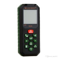 Wholesale Original MiLESEEY S2A M Portable Laser Rangefinder Distance Meter Area Volume Distance Measurer With Multi line LCD Display