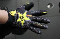 bicycle riding gloves - Locomotive Motocross motorcycle Rockstar Cycling Bike Sports Bicycle Racing Full Finger riding outdoor sports THOR gloves
