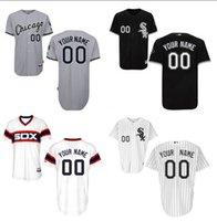 Baseball white sox baseball shirts - Customized Baseball Jersey Chicago White Sox Authentic Personalized Embroidery Stitch Shirt Throwback
