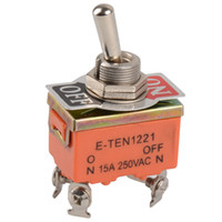 Wholesale 1 PC PIN Toggle Switch ON OFF Two Position Switch A V B00140