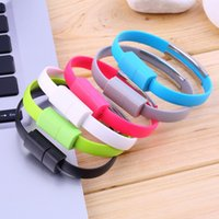 Wholesale 2015 Top Quality Wristband Micro USB Cable Bracelet Data Charging Line For Cellphone Android