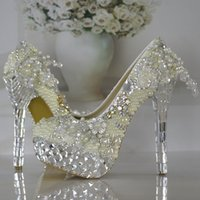 ballet photos - The new wedding shoe white high heeled shoes bride wedding photos with wedding dress shoes Bridal Accessories
