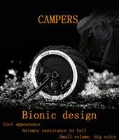 Wholesale Outdoor Bluetooth Wireless Speakers Campers Handsfree Waterpoor Mrice Speaker Portable Shower Wireless Bluetooth TF Card Speaker