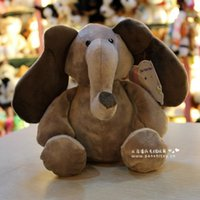 baby elephants for sale - 1pcs CM quot Cute Elephant with big ears plush toy Doll Cartoon Animals Baby Toy for Children Gifts toys Hot sales