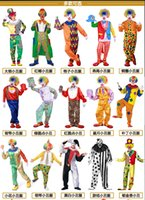 adult female clown costume - Clown costume adult suit Halloween costume adult female make up party party dress clothes props performance costumes