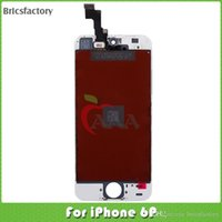 Wholesale LCD For iphone P lcd display touch complete digitizer screen for iphone plus lcd screen for free DHL shipping White and Black