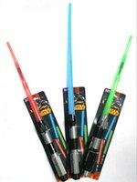 Wholesale Star Wars Light Saber Toys Hot Kids Hasbro Star Wars Weapon Lightsaber Toys With Sound and Light for