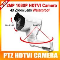 Wholesale 2016 New Model Waterproof Security P PTZ HD TVI Camera MP quot Sony Exmor CMOS Sensor X Optical Zoom IR M