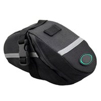 aluminum saddle bags - Hot Waterproof Cycling Mountain Road MTB Bike Saddle Bag Bicycle Back Seat Tail Rear Pouch Storage tool Package XN091