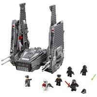 Wholesale Nuevo unids best LEPIN Star Wars Series Kylo Ren comando lanzadera monta los bloques huecos modelo establecido juguetes LG Compat