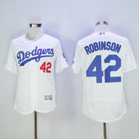 Wholesale Men s Dodgers Koufax Robinson Kershaw Seager Blanton Majestic Home Flex Base baseball jerseys Collection Player Jersey