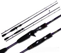 Wholesale Lovers Lure Rod m Power Ml Section Carbon Spinning Casting Lure Rod Many Beautiful Color